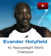 Evander Holyfield heavyweight world champion testimonial