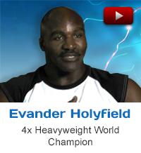 Evander Holyfield heavyweight world champion testimonial