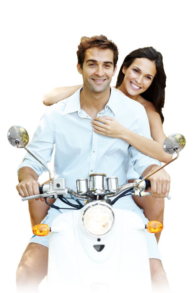 anti-ageing energetic couple